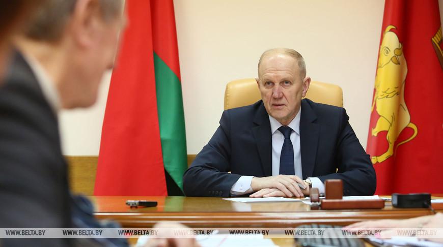 Кравцов провел прием граждан в Гродно
