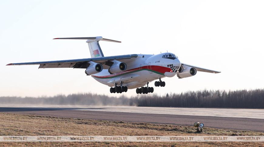 Беларусь отправила второй самолет с гуманитарным грузом в Китай