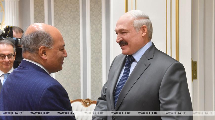 Лукашенко встретился с главой ЕБРР Сумой Чакрабарти