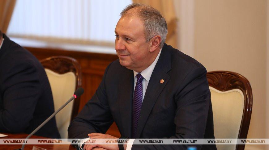 Румас встретился с главой ЕБРР