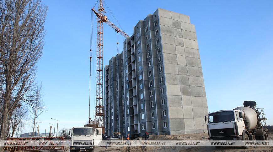 В Мозыре ведется строительство жилья для многодетных семей