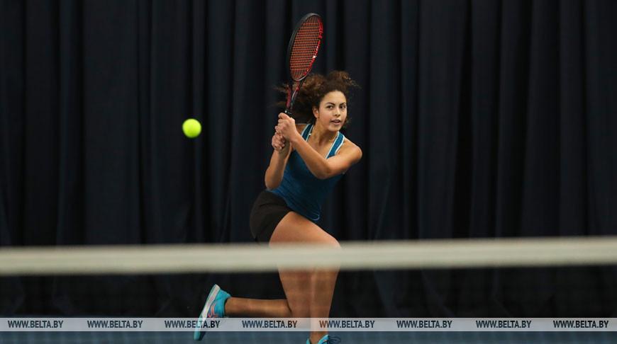 Зимний командный Кубок Европы по теннису проходит в Минске