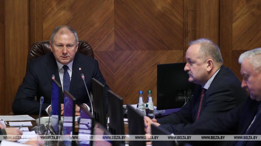 Заседание Совета Министров об итогах социально-экономического развития прошло в Минске