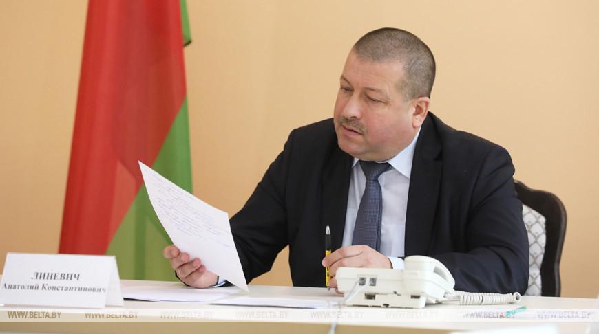 Линевич провел выездной прием граждан в Орше