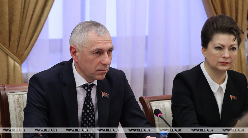 Мицкевич встретился с сопредседателем парламентской группы дружбы Швейцария - Беларусь