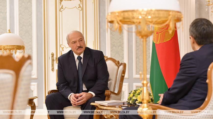 Лукашенко встретился с главой Федерального департамента иностранных дел Швейцарии