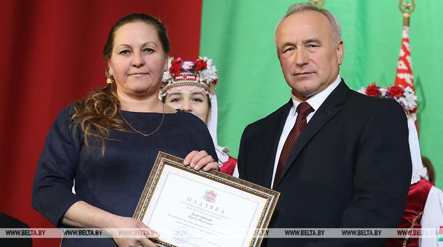 Церемония чествования лучших животноводов региона состоялась в Витебске