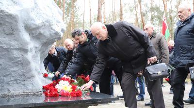 Митинг-реквием, посвященный 31-й годовщине вывода советских войск из Афганистана, прошел в Бресте