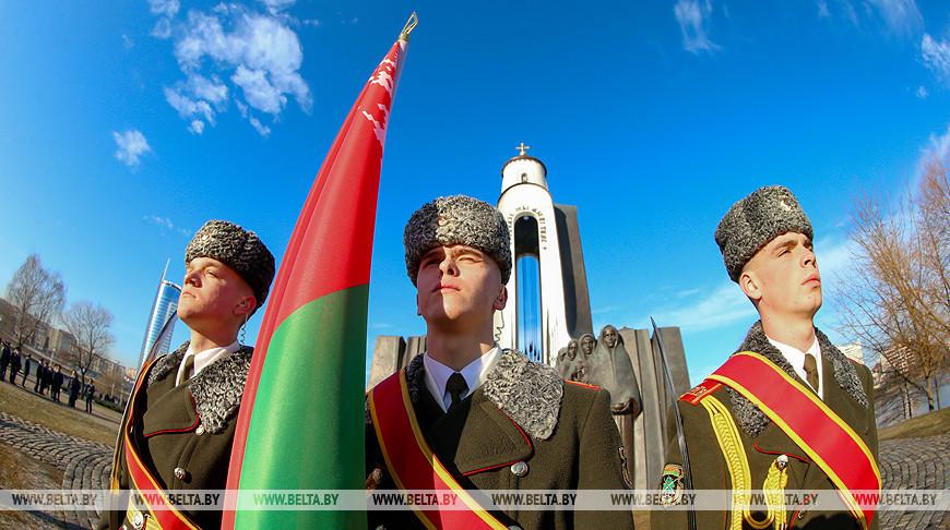 Память воинов-интернационалистов почтили в Минске