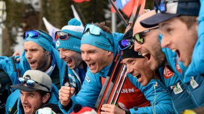Французский биатлонист Эмильен Жаклен выиграл гонку преследования на ЧМ в Антхольце