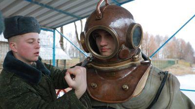 Сбор военных водолазов прошел в Могилеве