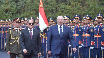 Лукашенко встретился с Абдель Фаттахом ас-Сиси