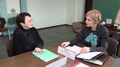 Ольга Чуприс провела личный прием граждан в Берестовицком районе