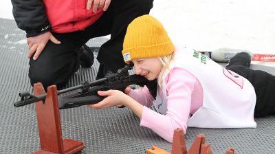 """Соревнования """"Снежный снайпер"""" проходят в Минске"""