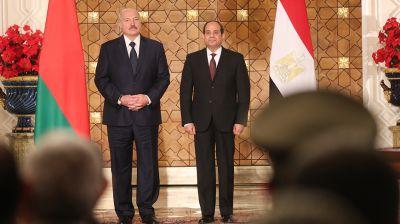 Беларусь и Египет создадут комиссию по двустороннему сотрудничеству и политическому диалогу