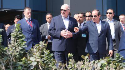 Лукашенко ознакомился со строительством новой административной столицы Египта