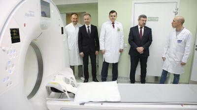 Новый компьютерный томограф установили в Гомельском областном онкодиспансере