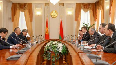 Румас встретился с первым вице-премьером Кыргызстана