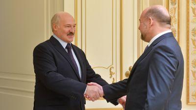 Лукашенко встретился с губернатором Архангельской области России Игорем Орловым