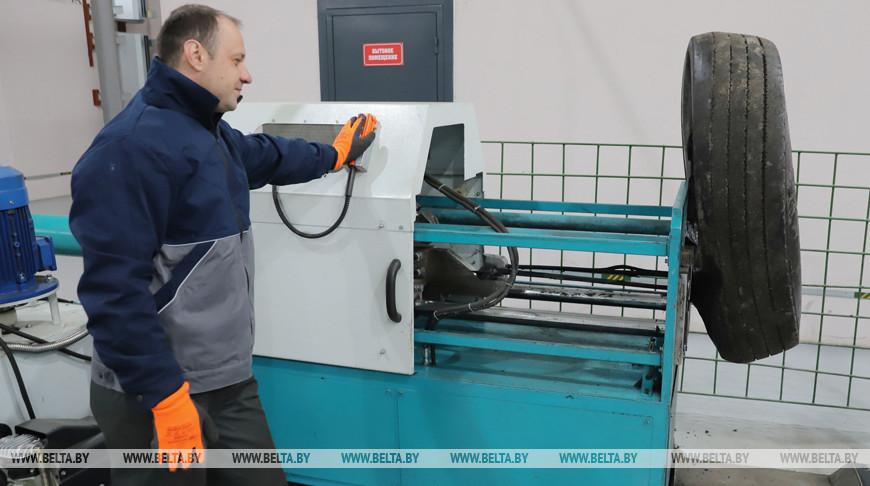 В Пинске открывается завод по переработке шин