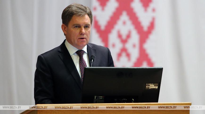 Итоговая коллегия Минздрава прошла в Белорусском государственном медуниверситете