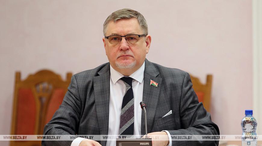 Парламентские слушания к 75-летию Великой Победы планируется провести в Беларуси в апреле