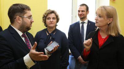 Шведская делегация посещает Витебскую область