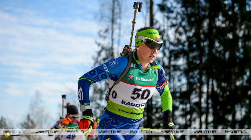 """Четыре белорусские биатлонистки выступят в финале суперспринта на ЧЕ в """"Раубичах"""""""