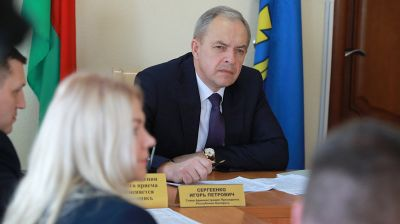 Сергеенко провел прием граждан в Круглом