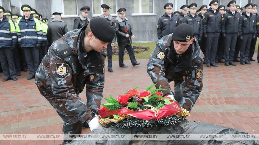 В Витебске прошли торжества, посвященные Дню белорусской милиции