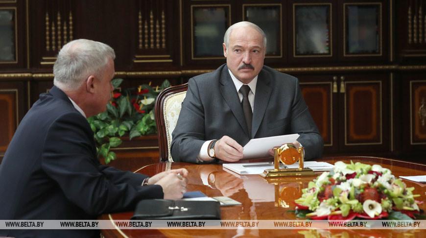 Лукашенко встретился с генеральным секретарем ОДКБ