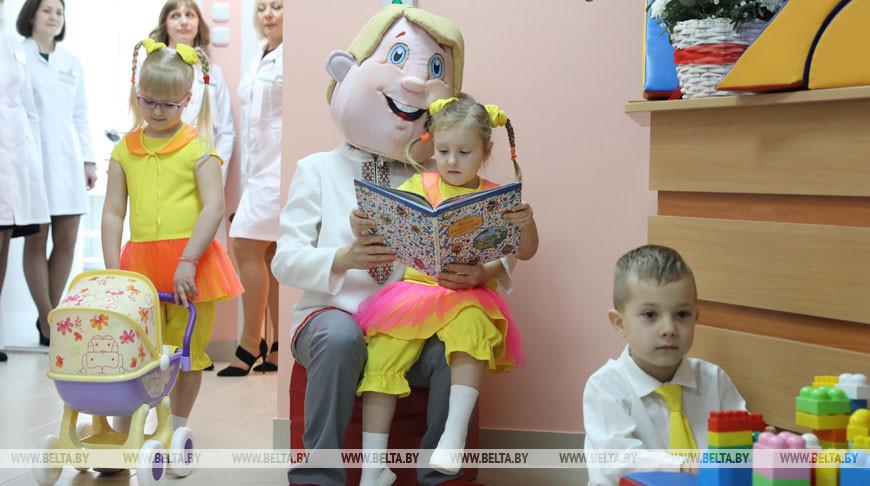 Детская амбулатория открылась в микрорайоне Билево в Витебске