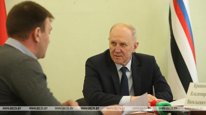 Кравцов провел прием граждан в Сморгони