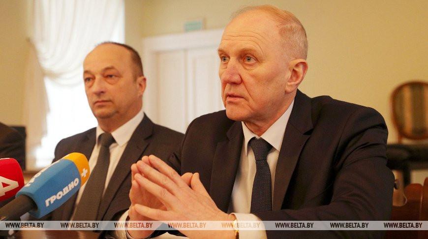 Кравцов встретился с представителями СМИ в музее-усадьбе М.К.Огинского