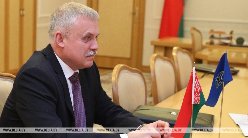 Зась обсудил с Равковым и Хрениным сотрудничество Беларуси в ОДКБ