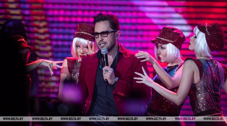Артур Пирожков выступил с концертом в Минске