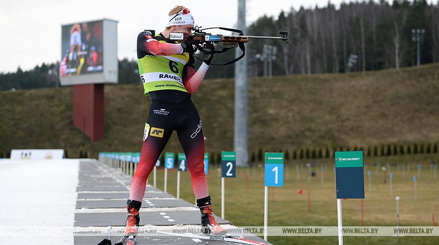 """Норвежец Сиверт Гутторм Баккен стал первым в масс-старте на этапе Кубка IBU в """"Раубичах"""""""