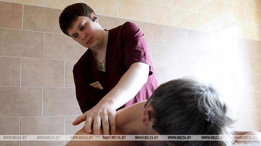 Витебчанин после потери зрения стал массажистом