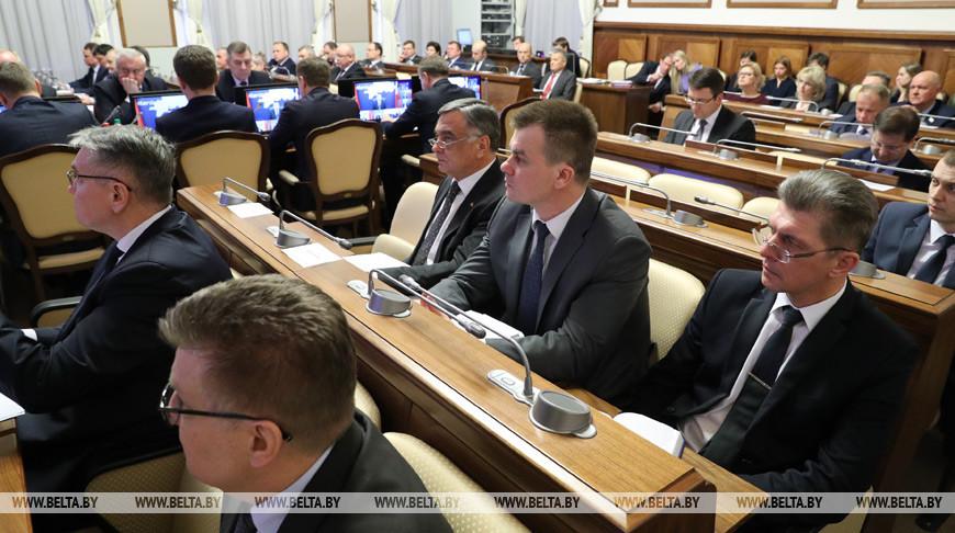 Заседание Президиума Совмина прошло в Минске