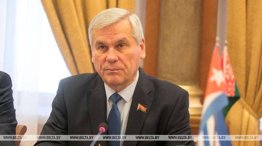 Андрейченко встретился с послом Кубы в Беларуси