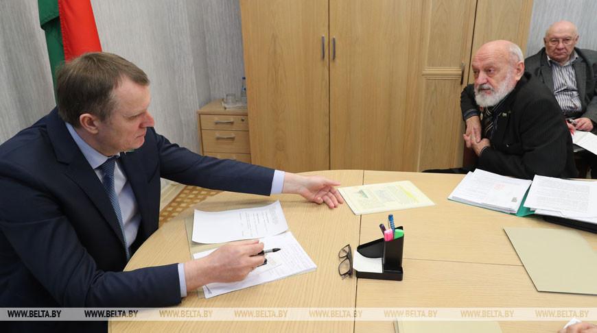 Исаченко провел прием граждан