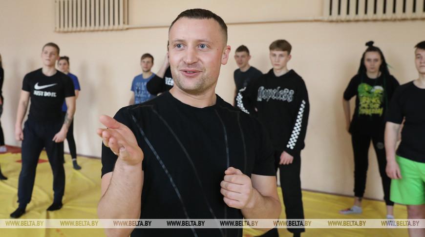 Мастер-класс по ушу саньда прошел в Витебске