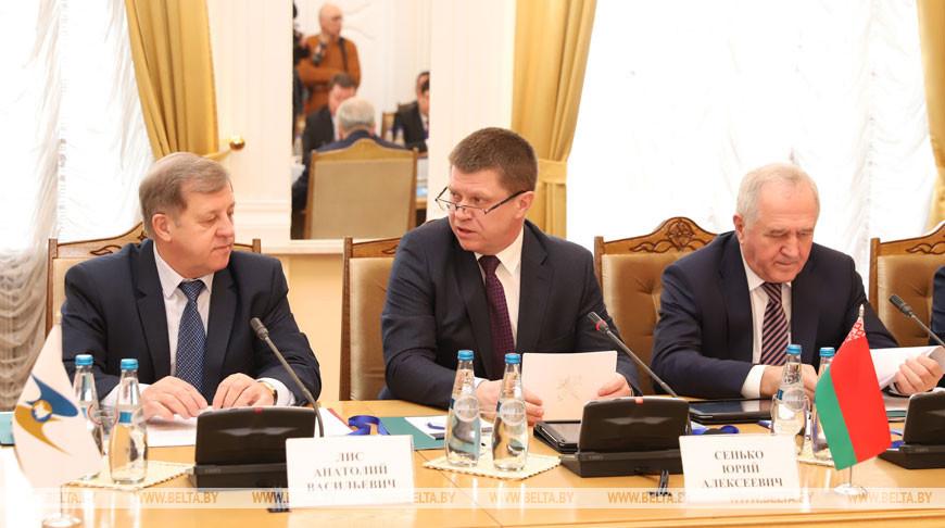 Заседание объединенной коллегии таможенных служб государств - членов Таможенного союза в Бресте