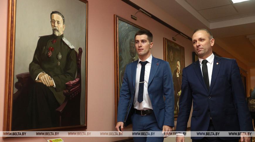 Чемпиона мира по велоспорту Евгения Королька чествовали в Гродно