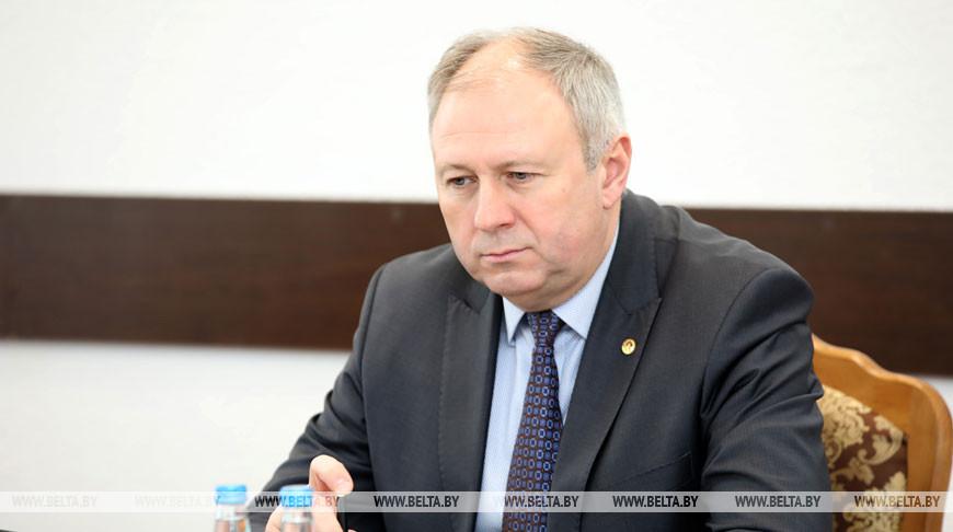 Румас принял участие в заседании Житковичского райисполкома