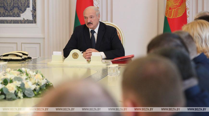 Лукашенко согласовал назначение руководителей местных органов власти