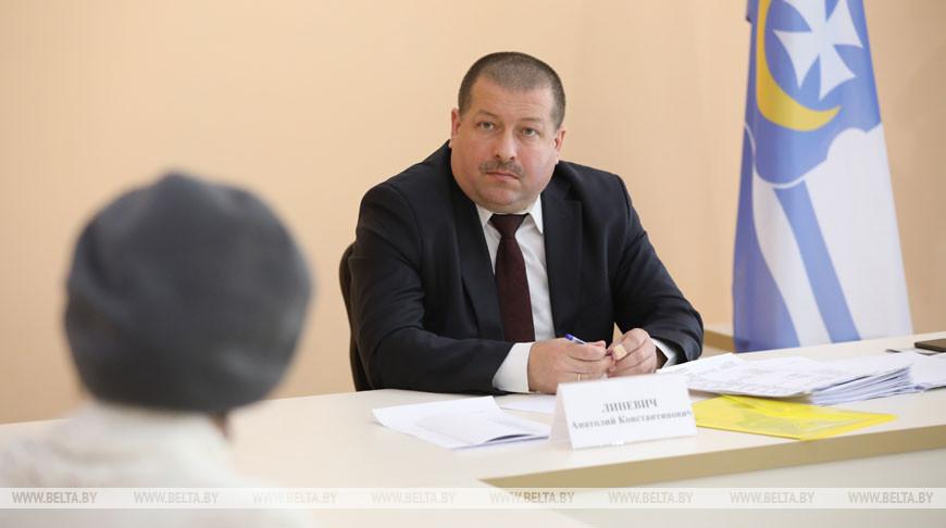 Линевич провел прием граждан в Оршанском райисполкоме