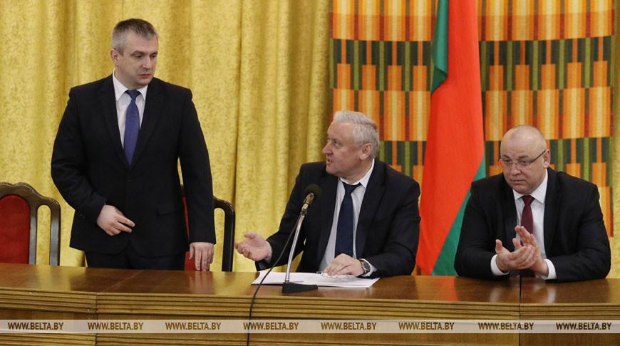Коллективу Минсельхозпрода представили нового руководителя
