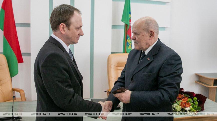 Коллективу КГК Витебской области представили нового председателя