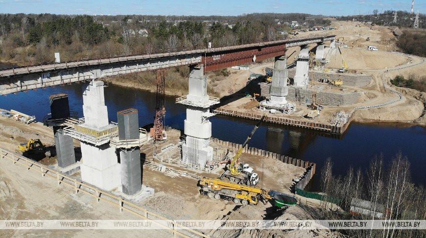 Монтаж пролетов обновленного моста в Гродно планируют начать в мае